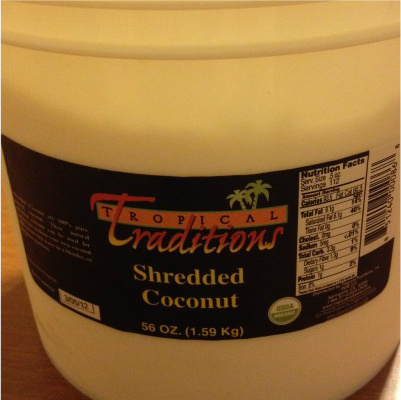 Tropical Traditions Coconut