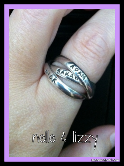 mothers day gift nelle and lizzy personalized mothers